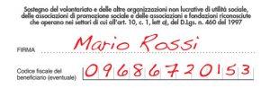 """5×1000: come donarlo all'Associazione """"Amici di We Love Football"""""""