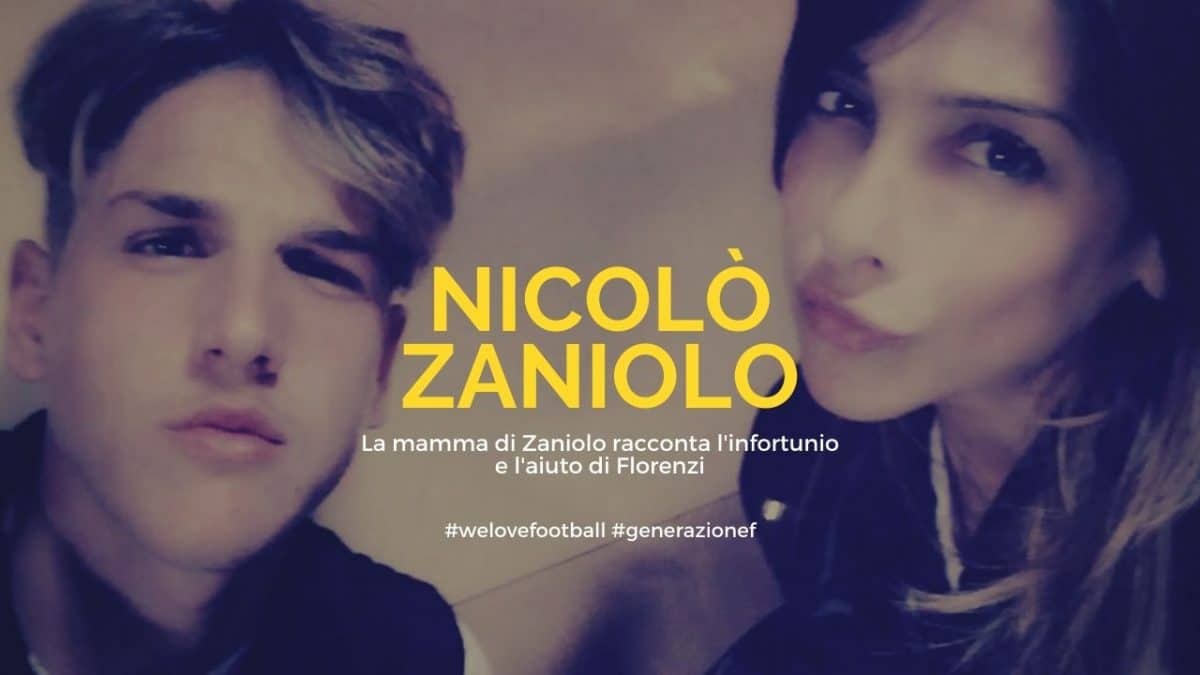 La mamma di Zaniolo racconta l'infortunio e l'aiuto di Florenzi